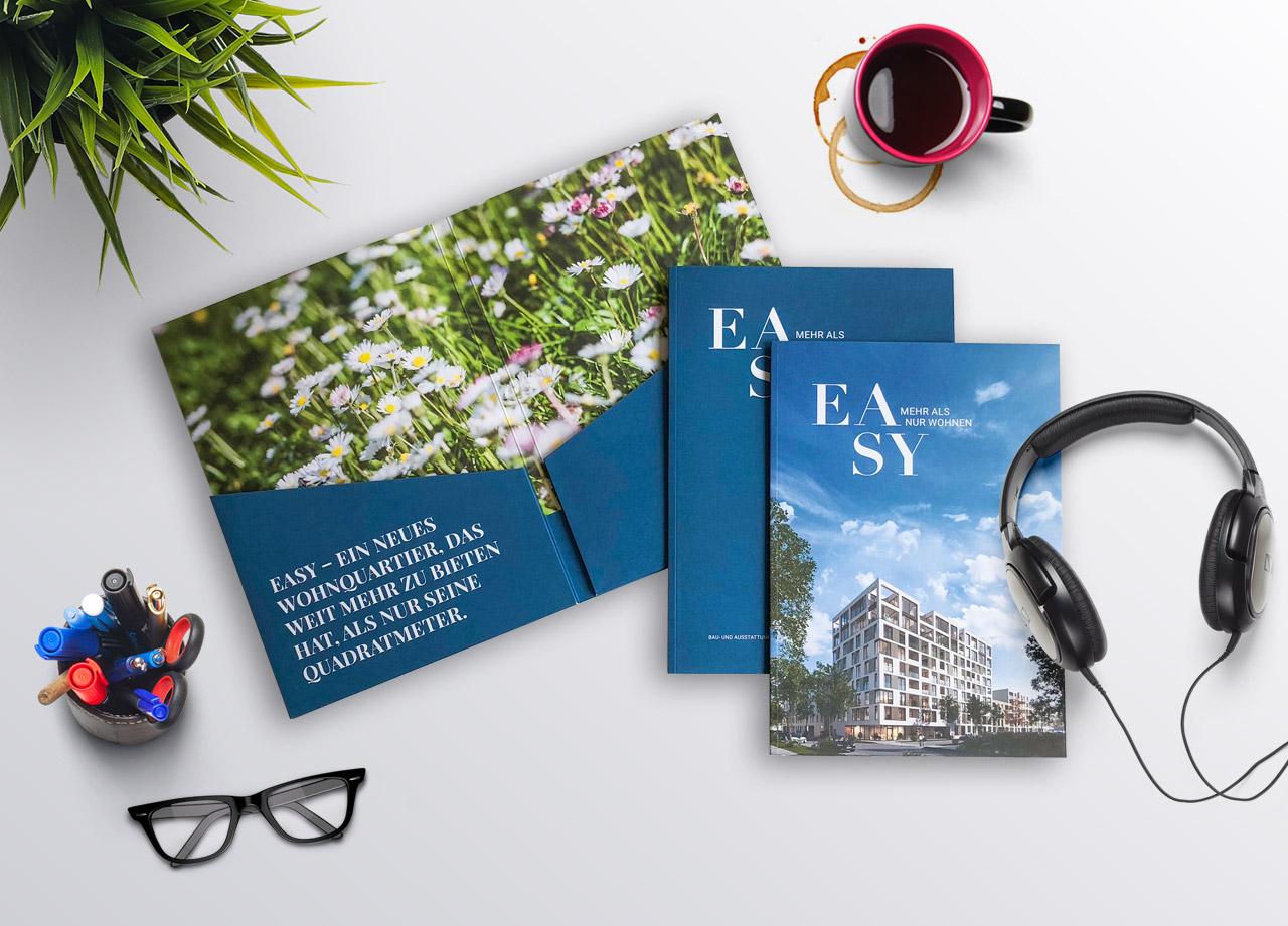 Broschüre und Baubeschreibung EASY München