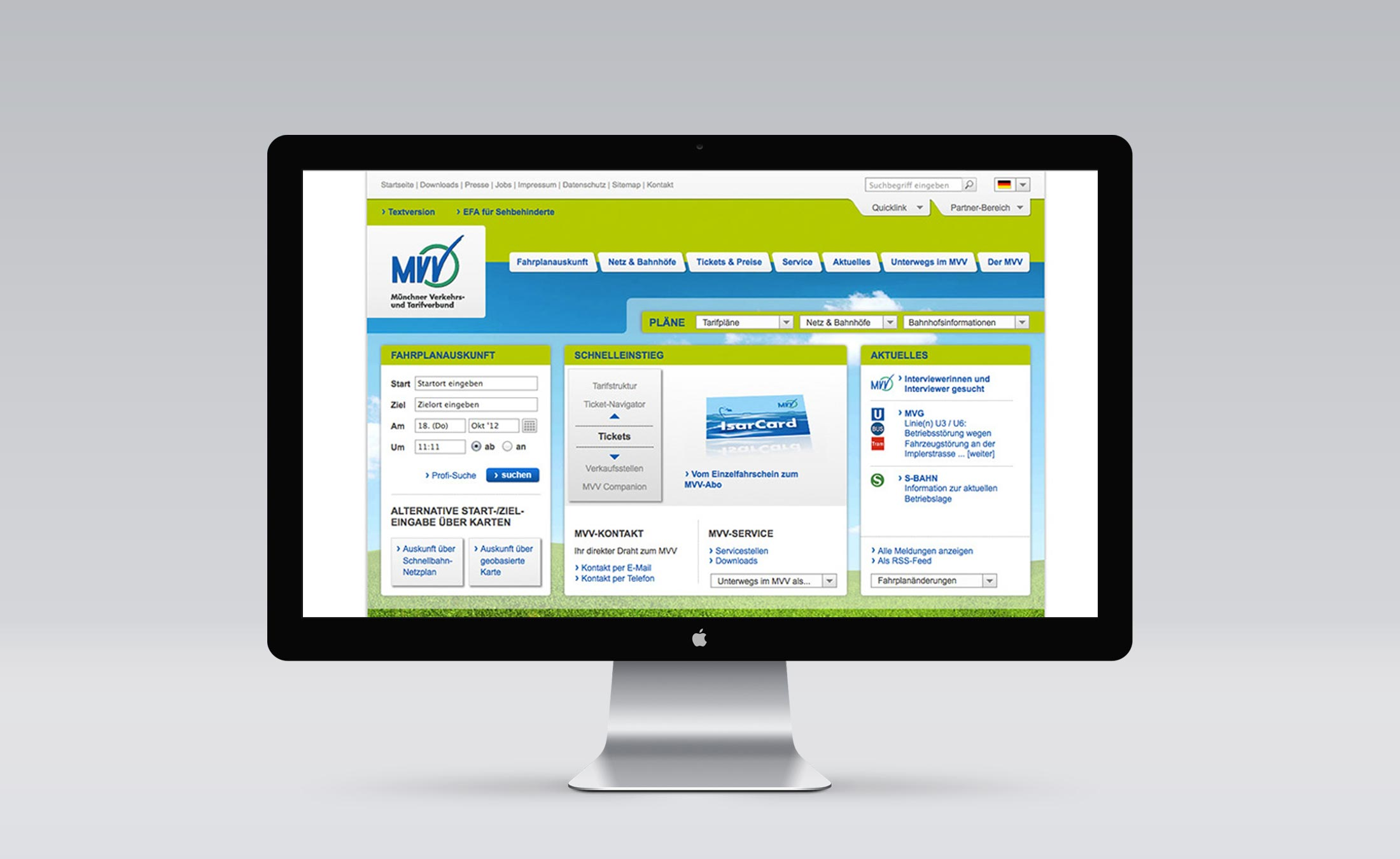 MVV Screen 1