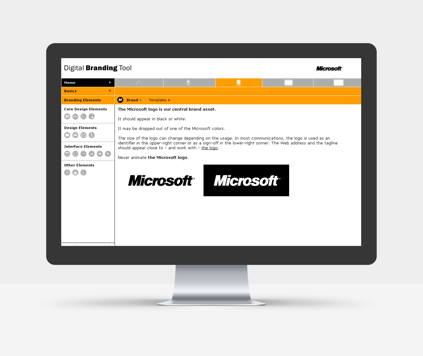 Definition Microsoft Logo_Digitaler Style Guide