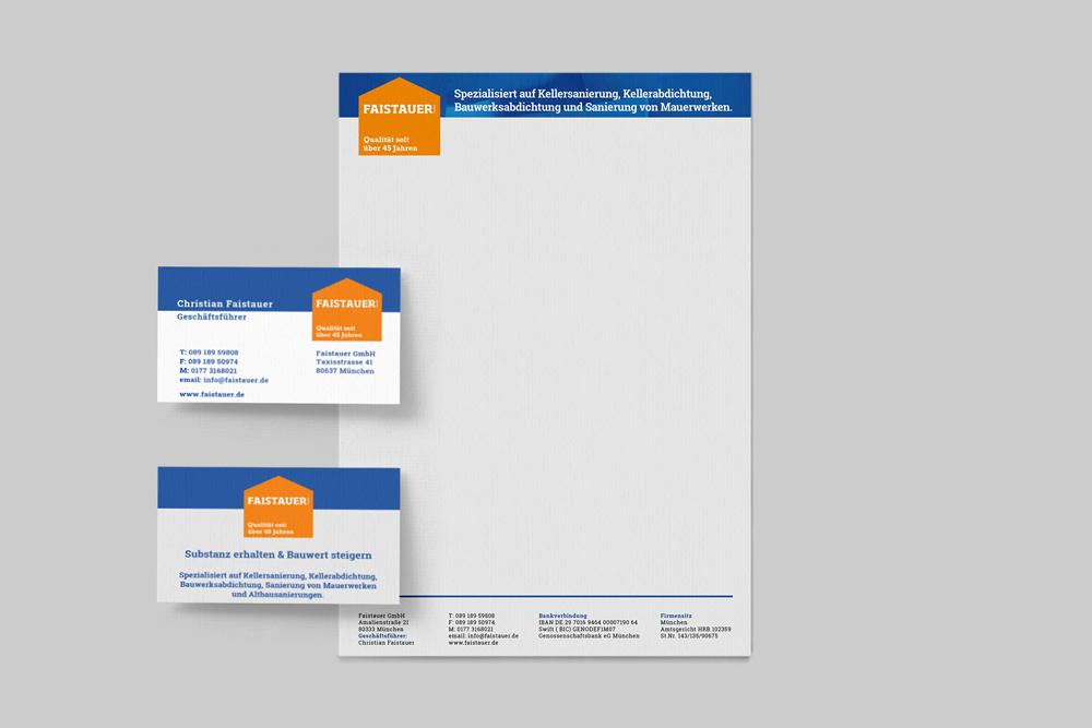 Briefpapier und Visitenkarten Faistauer GmbH